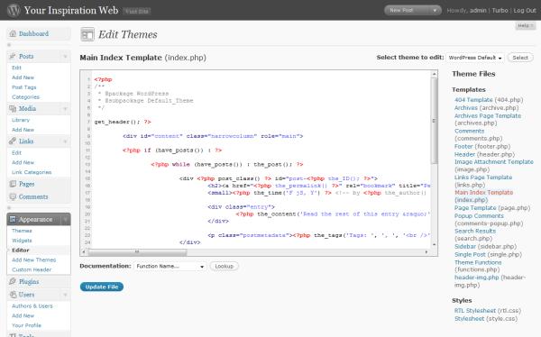 evidenziazione del codice sorgente