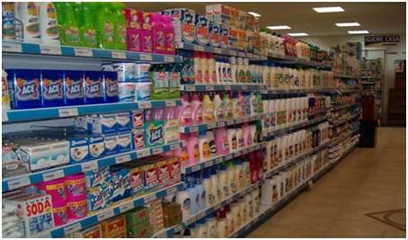 Figura 1 - Scaffale dei detersivi in un Supermarket