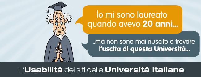 Usabilità e non solo: come sono messi i siti delle Università italiane?
