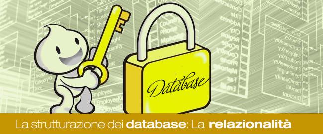 La strutturazione dei database: Il modello relazionale (3/3)