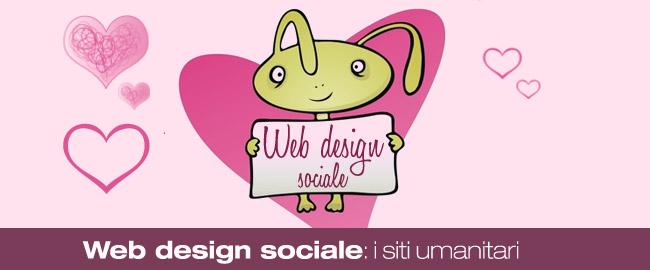 Web design sociale: i siti umanitari