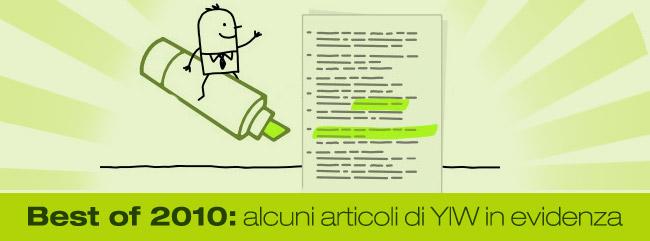 Best of YIW: i nostri migliori articoli del 2010