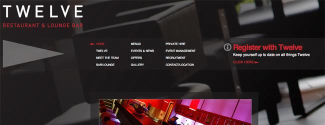 esempio di testo rosso su sfondo nero