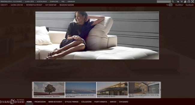 Homepage di Divani&Divani