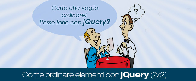 Come ordinare elementi con jQuery (2/2)