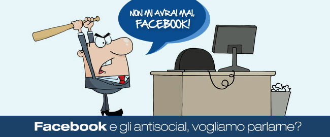 facebook antisocial