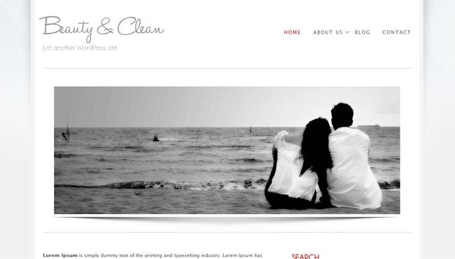 Figura 7 - Testata del sito mostrata in Home Page.