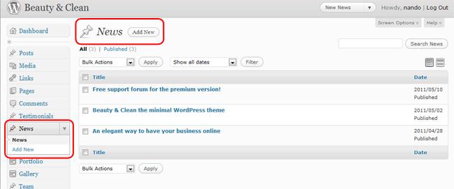 Datazione template Joomla gratis
