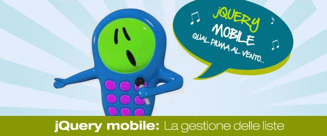 jQuery Mobile: La gestione delle liste