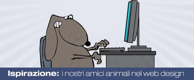 Ispirazione: i nostri amici animali nel mondo del web design
