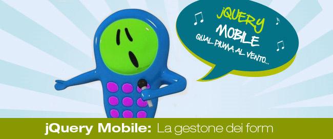 jQuery Mobile: La gestione dei form