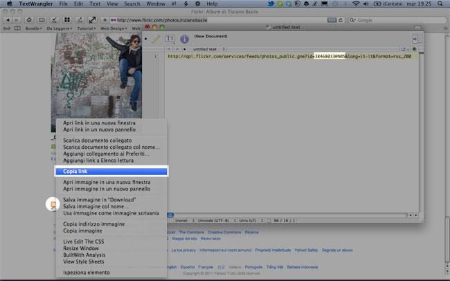 Come recuperare l'id del nostro account Flickr