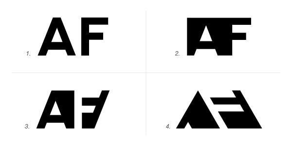 Popolare Forma o controforma: idee per costruire il tuo monogramma | Your  PH63