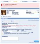 Messaggi di errore di booking.com