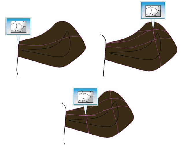 Trama orecchio destro