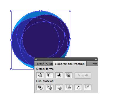 Elaborazione tracciati degli anelli