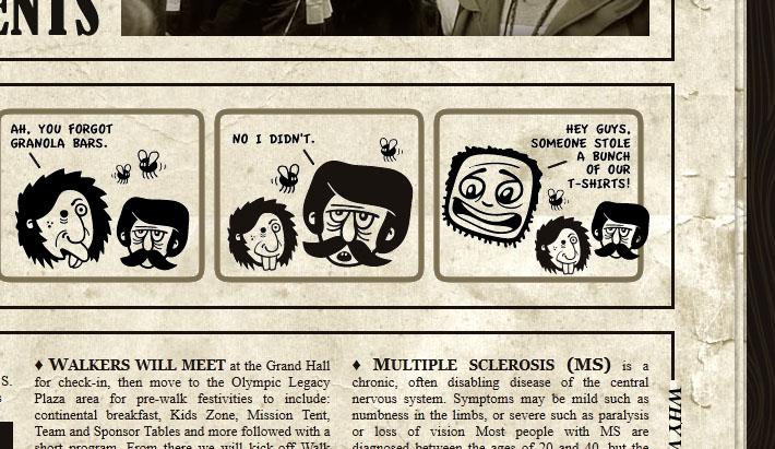 Dingbat fumettistico nel sito Team Fanny Pack