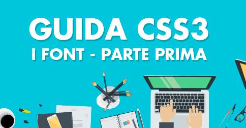 Guida CSS£ - I font