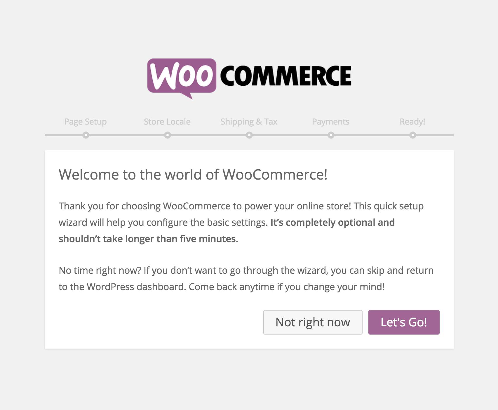Installazione WooCommerce 06