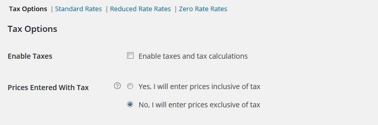 opzioni tasse