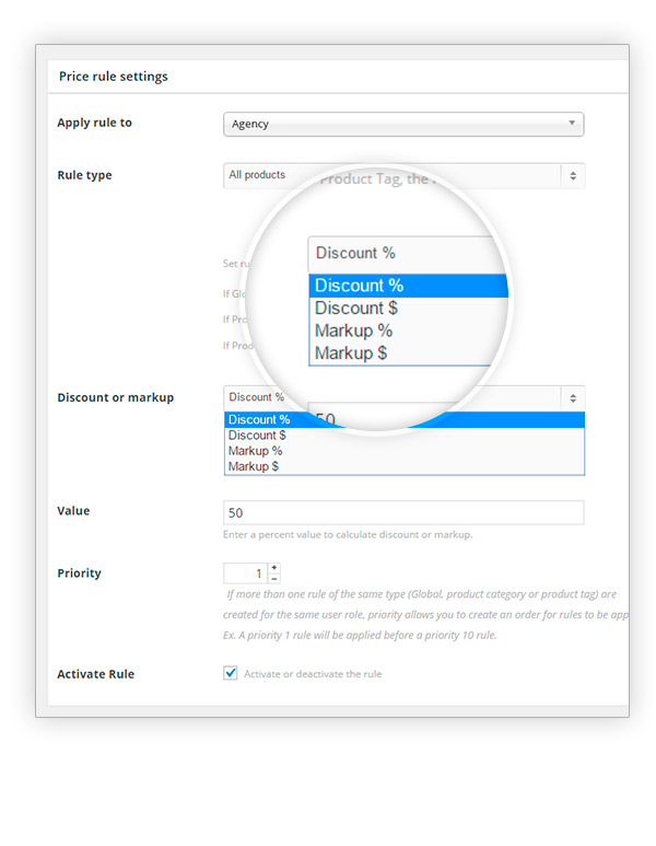 Sconto agli utenti registrati