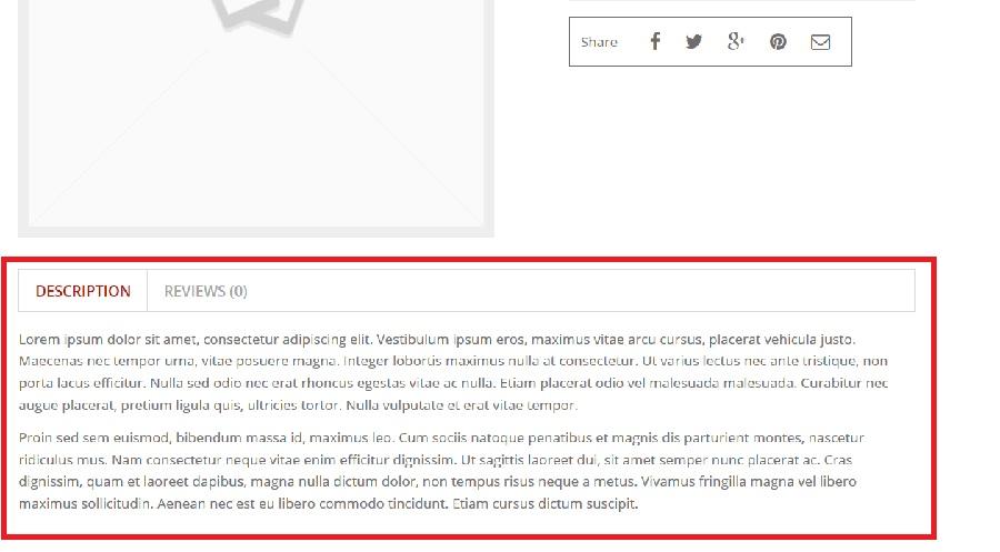 Descrizione nella pagina prodotto