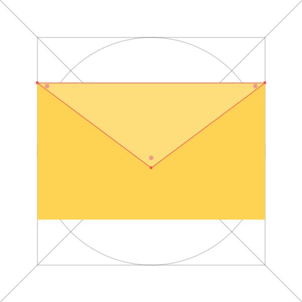 Busta - triangolo