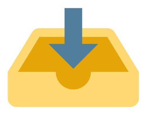 Inbox - icona completa
